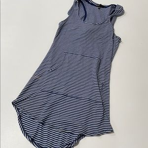 Hooded Striped Dress (Size S)